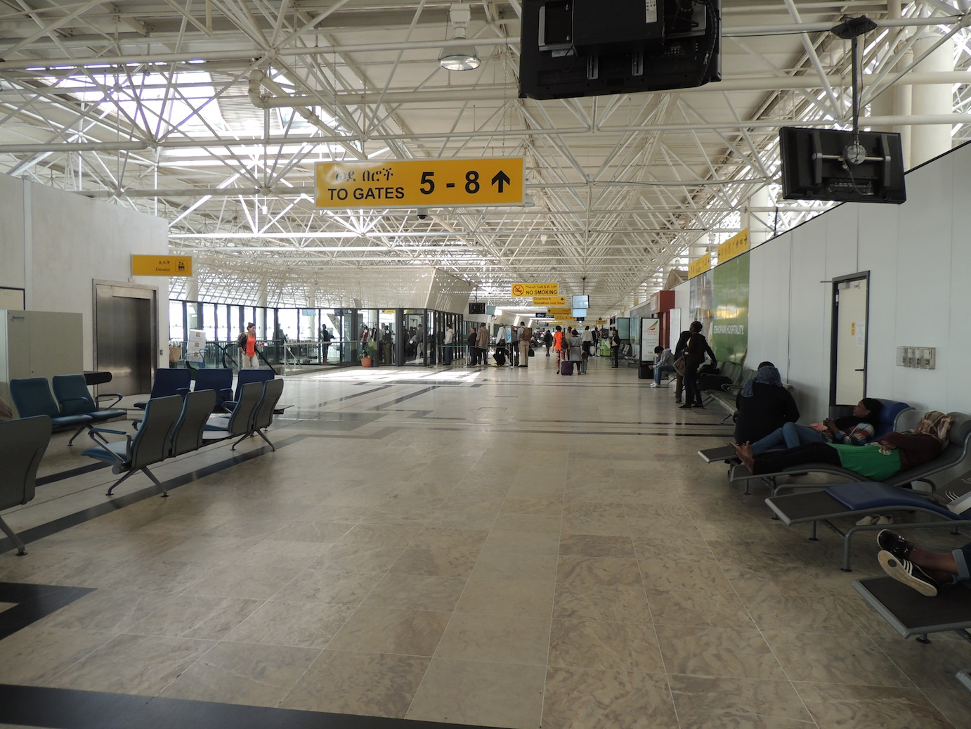 Ethiopian Airlines Cloud Nine Lounge And Addis Ababa To