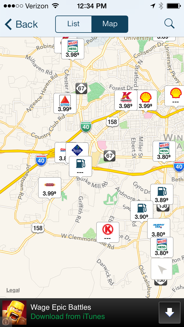Find the Cheapest Gas Prices Along Your Drive - Guru of Travel Cheap Gas Map on