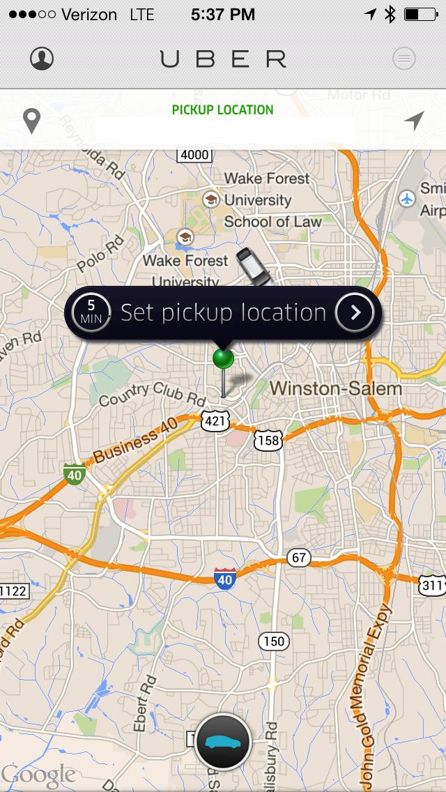 Uber in Greensboro and Winston Salem: $30 + 5 Rides FREE - Guru of ...