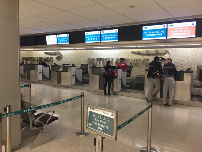 Cathay Pacific Check In JFK