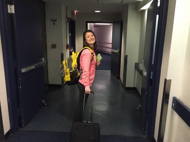 Boarding JFK to Hong Kong at Gate 6