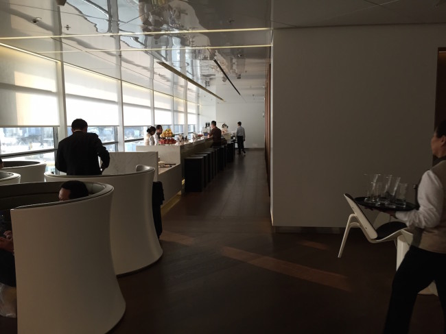 """Cathay Pacific """"The Wing"""" Lounge"""