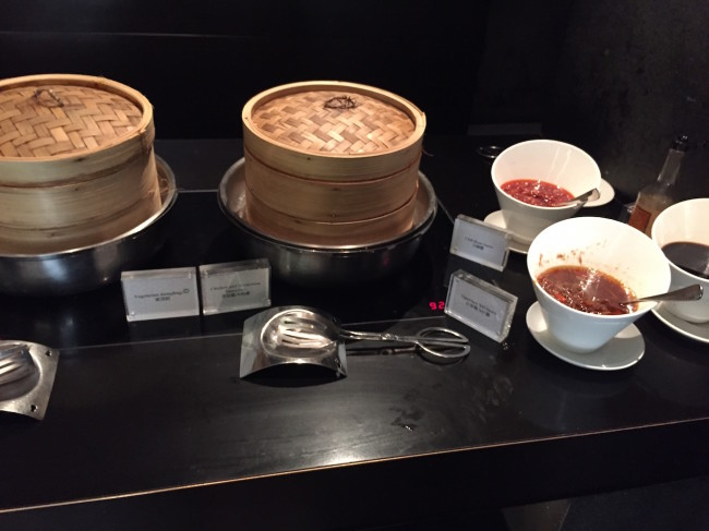 """Cathay Pacific """"The Wing"""" Lounge Food"""